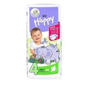 Bella Baby Happy Maxi 8-18 kg dětské pleny 46 ks