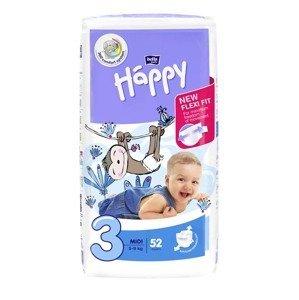 Happy Baby Happy Midi 5-9 kg dětské pleny 52 ks