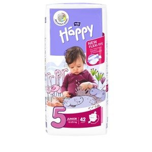 Bella Baby Happy Junior 12-25 kg dětské pleny 42 ks
