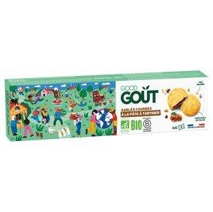 Good Gout BIO Máslové sušenky plněné lískooříškovým krémem 100 g