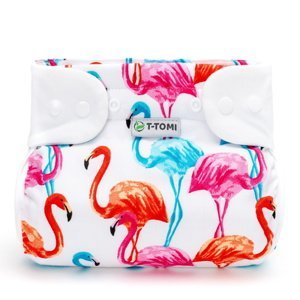 T-tomi Ortopedické abdukční kalhotky patentky 5-9 kg 1 ks flamingo