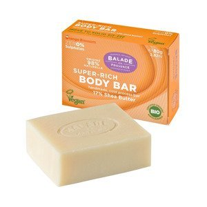 Balade en Provence Vyživující tuhé sprchové mýdlo BIO Pomerančový květ 80 g