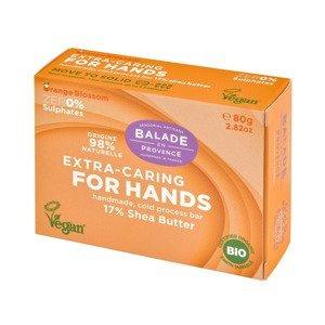 Balade en Provence Vyživující tuhé mýdlo na ruce BIO Pomerančový květ 80 g