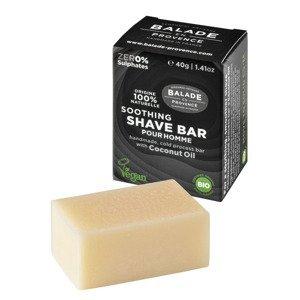 Balade en Provence Zklidňující tuhé mýdlo na holení pro muže BIO Citrus 40 g