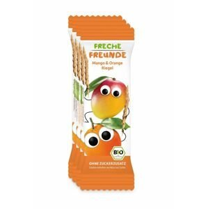 Freche Freunde BIO Ovocná tyčinka Mango a pomeranč 4x23 g