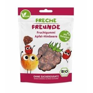 Freche Freunde BIO Ovocné želé Jablko, malina, rýžové kuličky 30 g