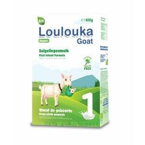 Loulouka BIO Počáteční kojenecká kozí výživa 1 400 g
