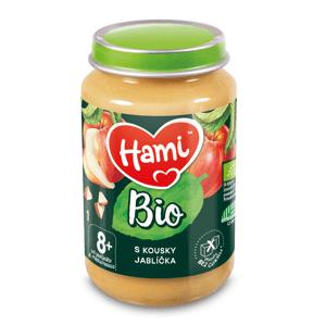 Hami BIO Ovocný příkrm s kousky jablíčka 8m+ 190 g