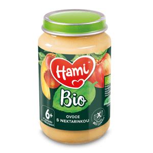 Hami BIO Ovocný příkrm Ovoce s nektarinkou 6m+ 190 g