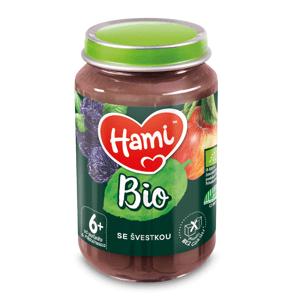 Hami BIO Ovocný příkrm se švestkou 6m+ 190 g
