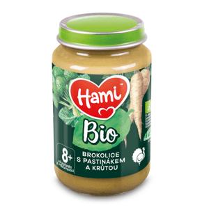 Hami BIO Brokolice s pastinákem a krůtou 8m+ 190 g
