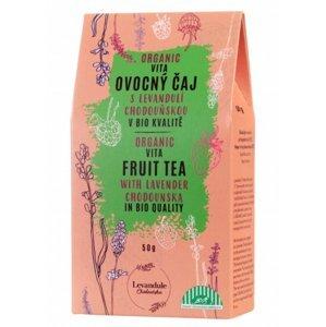 BIO Levandule Chodouňská Vitafruit s levandulí sypaný čaj 30 g