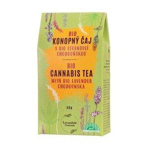 BIO Levandule Chodouňská Konopný sypaný čaj s levandulí 50 g