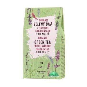 BIO Levandule Chodouňská Zelený sypaný čaj s levandulí 30 g