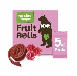 BEAR Fruit Rolls malina ovocné rolované plátky 5x20 g