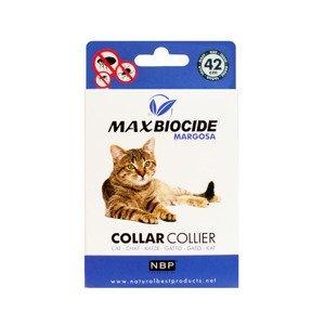 Max Biocide Cat Collar Obojek pro kočky 42 cm 1 ks