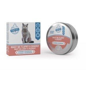 Topvet For Pets Mast na tlapky a drápky pro kočky 50 ml