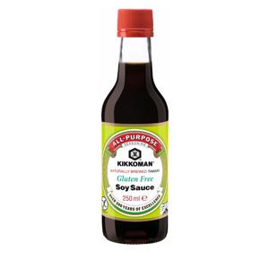 Sójová omáčka bez lepku a glutamátu Kikkoman 250 ml