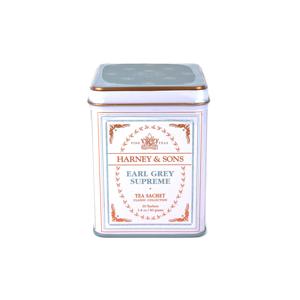 Harney & Sons Earl Grey Supreme Classic černý čaj 20 sáčků v plechové krabičce