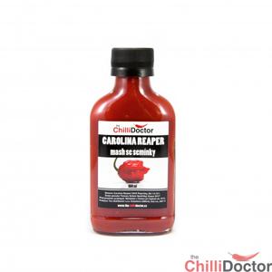 Chilli mash Carolina Reaper se semínky 100 ml