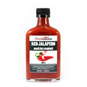 Chilli mash Red Jalapeno bez semínek 200 ml