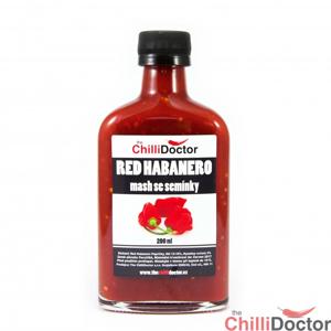 Chilli mash Red Habanero se semínky 200 ml