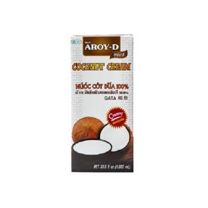 Kokosový krém Aroy-D 1 l