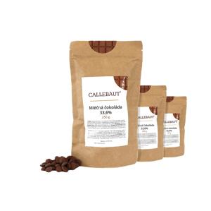 Callebaut Mléčná čokoláda 33,6 % 750 g