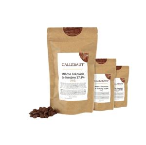 Mléčná čokoláda do fontány Callebaut 37,8% 750 g (3 x 250 g)