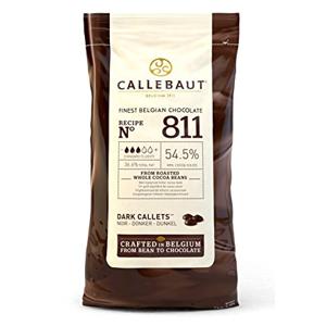 Callebaut Hořká čokoláda No 811, 54,5%, 1 kg