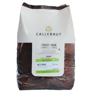 Callebaut čokoláda do fontán Horká 2,5 kg