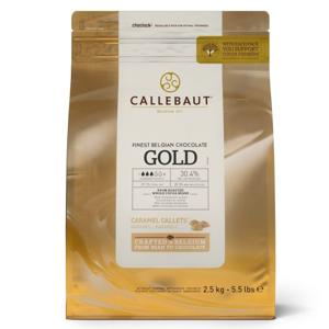 Čokoláda Gold Callebaut 2,5 kg