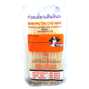 """Rýžové nudle široké """"Pho"""" 1mm 375 g"""