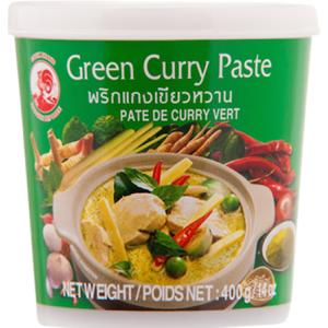 Thajská zelená kari pasta Cock Brand 400 g