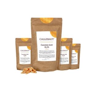 Čokoláda Gold Callebaut 1 kg (4 x 250 g)