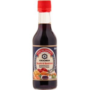 Sójová omáčka Kikkoman Sushi&Sashimi 250 ml