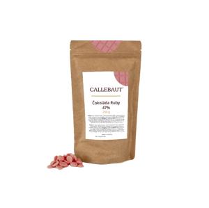 Čokoláda Ruby Callebaut 250 g