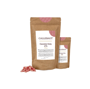 Čokoláda Ruby Callebaut 500 g (2 x 250 g)