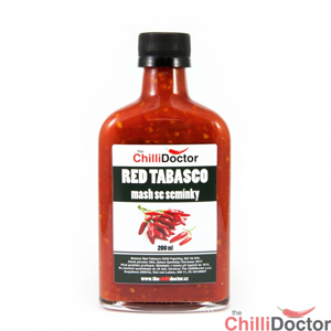 Chilli mash Red Tabasco se semínky 200 ml