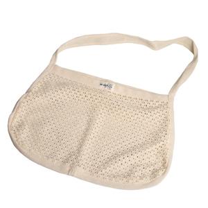 Re-Sack Nákupní taška s drobnými oky s dlouhými uchy pro pohodlné nošení