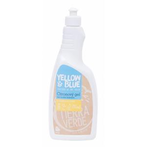 Yellow&Blue Citronový gel na vodní kámen (750 ml) s citronovou silicí