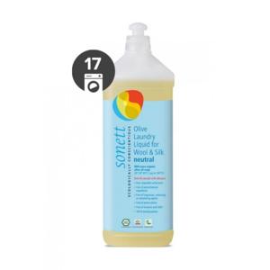 Sonett Olivový prací gel na vlnu a hedvábí Sensitive (1 l) i pro nejcitlivější a alergickou pokožku