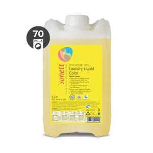 Sonett Tekutý prací gel na barevné prádlo BIO (5 l) s mátou a citrónem