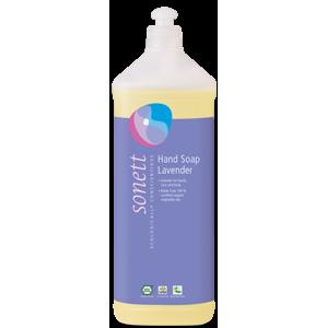 Sonett Tekuté mýdlo - levandule BIO (1 l) pro vaše ruce, obličej i celé tělo