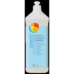 Sonett Prostředek na nádobí Sensitive (1 l) i pro nejcitlivější a alergickou pokožku