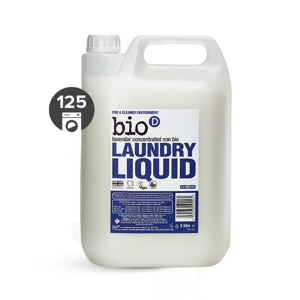Bio-D Tekutý prací gel s vůní levandule (5 l) vhodný i pro velmi jemné materiály