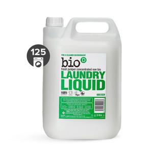 Bio-D Tekutý prací gel s vůní jalovce a mořské řasy (5 l) pro bílé i barevné prádlo