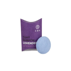 Two cosmetics Tuhý šampon proti lupům Lovender (85 g) s vrbovou kůrou a kopřivou