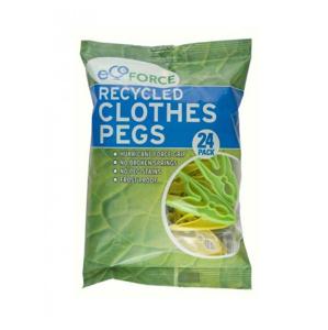 EcoForce Kolíčky na prádlo (24 ks) z recyklovaného materiálu