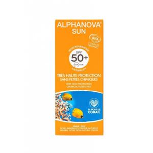 Alphanova Sun Opalovací krém SPF 50+ BIO (50 g) s exotickou vůní monoï